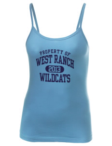 West Ranch High School Wildcats Women's Louise Longer Length Tank
