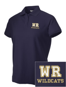 West Ranch High School Wildcats Embroidered Women's Technical Performance Polo