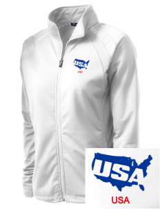 Maxwell AFB Gunter Annex Embroidered Women's Tricot Track Jacket