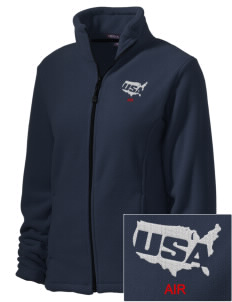 Cheyenne Mountain Air Station Embroidered Women's Wintercept Fleece Full-Zip Jacket