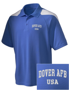 Dover AFB Embroidered Holloway Men's Frequency Performance Pique Polo
