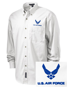Bolling AFB Embroidered Tall Men's Twill Shirt