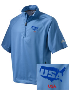 Nellis AFB Embroidered adidas Men's ClimaProof Wind Shirt