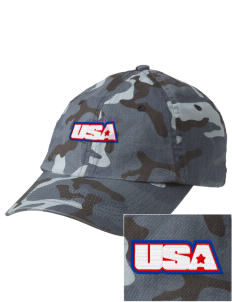 Ellsworth AFB Embroidered Camouflage Cotton Cap