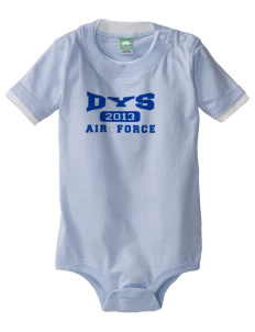 Dyess AFB Baby One-Piece with Shoulder Snaps