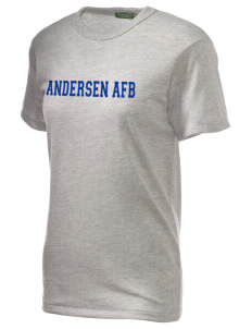 Andersen Air Force Base Embroidered Alternative Unisex Eco Heather T-Shirt
