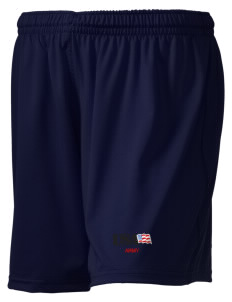 "Anniston Army Depot Embroidered Holloway Women's Performance Shorts, 5"" Inseam"