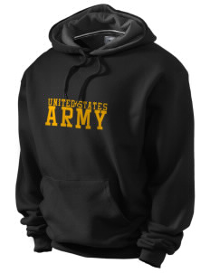 Anniston Army Depot Champion Men's Hooded Sweatshirt