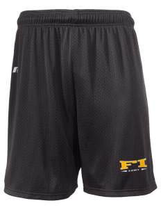 "Fort Irwin  Russell Men's Mesh Shorts, 7"" Inseam"