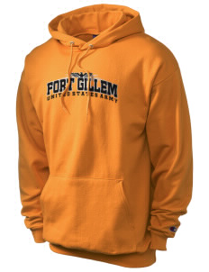 Fort Gillem Champion Men's Hooded Sweatshirt