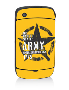 Hunter Army Airfield Black Berry 8530 Curve Skin