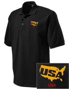 Fort Stewart Embroidered Tall Men's Pique Polo
