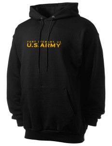 Fort Stewart Men's 7.8 oz Lightweight Hooded Sweatshirt