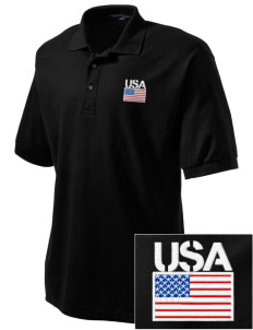 Fort Stewart Embroidered Tall Men's Silk Touch Polo