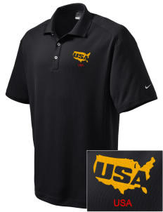 Aberdeen Proving Ground Embroidered Nike Men's Dri-Fit Classic Polo