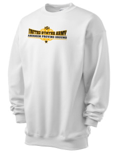 Aberdeen Proving Ground Men's 7.8 oz Lightweight Crewneck Sweatshirt