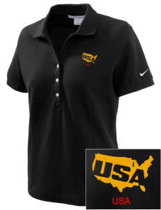Aberdeen Proving Ground Embroidered Nike Women's Pique Golf Polo