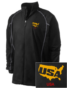 Fort Meade Embroidered Men's Nike Golf Full Zip Wind Jacket