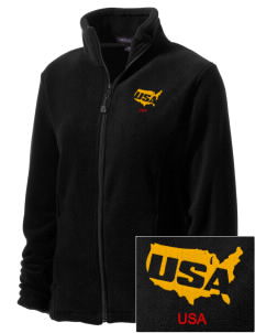 Camp Shelby Embroidered Women's Wintercept Fleece Full-Zip Jacket