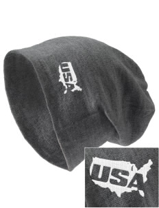 Fort Bliss Embroidered Slouch Beanie