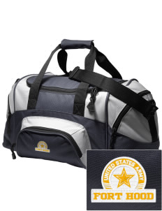Fort Hood Embroidered Small Colorblock Duffel