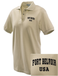 Fort Belvoir Embroidered Women's Pique Polo