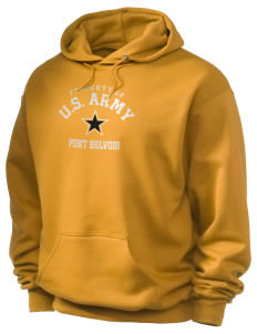 Fort Belvoir Holloway Men's 50/50 Hooded Sweatshirt
