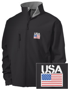 Fort Belvoir Embroidered Men's Soft Shell Jacket