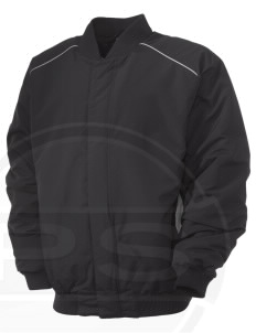 Fort Belvoir Embroidered Russell Men's Baseball Jacket