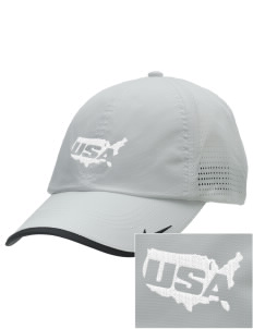 Camp Beauregard Embroidered Nike Dri-FIT Swoosh Perforated Cap
