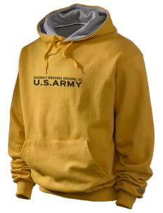 Dugway Proving Grounds Champion Men's Hooded Sweatshirt