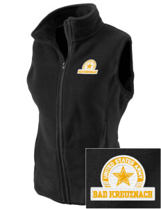 Bad Kreuznach Embroidered Women's Fleece Vest