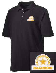 Bamberg Embroidered Men's Performance Plus Pique Polo