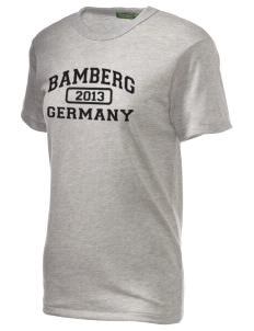 Bamberg Embroidered Alternative Unisex Eco Heather T-Shirt
