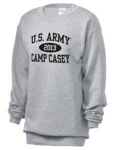 Camp Casey Unisex 7.8 oz Lightweight Crewneck Sweatshirt