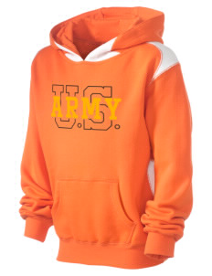 Camp Hienry-Taegu Kid's Pullover Hooded Sweatshirt with Contrast Color
