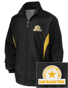 Camp Hialeah-Pusan Embroidered Holloway Men's Full-Zip Jacket