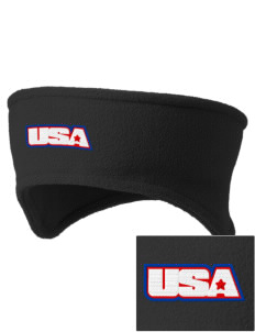 Camp Humphreys Embroidered Fleece Headband
