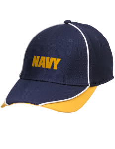 Winter Harbor Naval Security Group Activity Embroidered New Era Contrast Piped Performance Cap