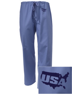 Corpus Christi Naval Air Station Embroidered Scrub Pants