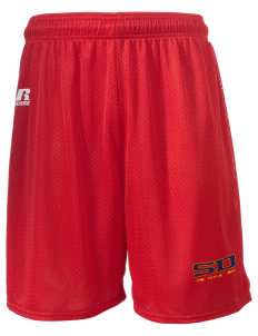 "San Diego MC Recruit Depot  Russell Men's Mesh Shorts, 7"" Inseam"