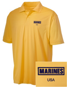 Parris Island Recruit Depot Embroidered Men's Micro Pique Polo
