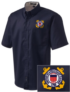 Petaluma CG Training Center Embroidered Men's Easy Care Shirt