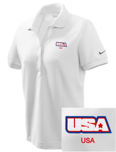 Yorktown CG Reserve Training Center Embroidered Nike Women's Pique Golf Polo