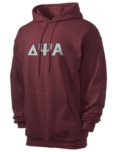 Delta Psi Alpha Men's 7.8 oz Lightweight Hooded Sweatshirt