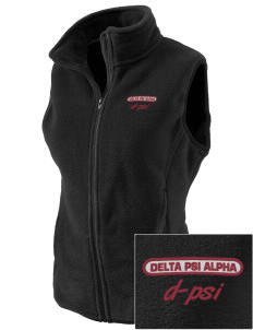 Delta Psi Alpha Embroidered Women's Fleece Vest