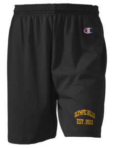 "Olympic Hills Elementary School Huskies  Champion Women's Gym Shorts, 6"" Inseam"