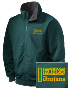 Edgewood High School Trojans Embroidered Holloway Men's Tall Jacket