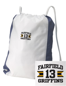 Fairfield Middle School Griffins Embroidered Holloway Home and Away Cinch Bag