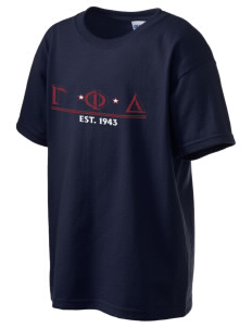 Gamma Phi Delta Kid's 6.1 oz Ultra Cotton T-Shirt